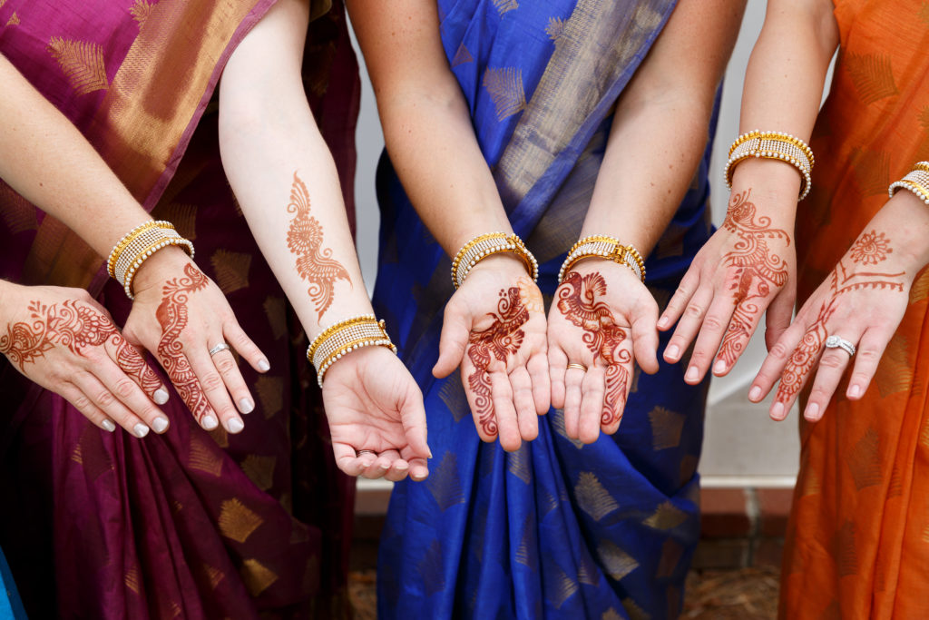 indian american fusion wedding
